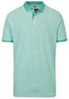 Poloshirt - Piqué - grün