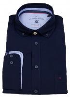 Hemd - Regular Fit - Button Down - Oxford - dunkelblau