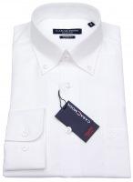 Hemd - Modern Fit - Button-Down Kragen - weiß