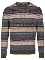 Pullover - Modern Fit - Rundhals-Ausschnitt - Moorland