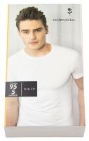T-Shirt - Schwarze Rose - Rundhals-Ausschnitt - weiß