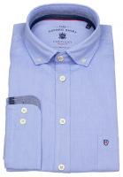 Hemd - Regular Fit - Button Down - Oxford - hellblau