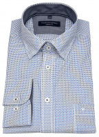 Hemd - Casual Fit - Under Button Down - blau / dunkelblau