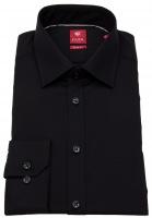 Hemd - Slim Fit - schwarz
