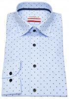Hemd - Modern Fit - Under Button Down - hellblau