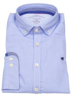 Hemd - Slim Fit - Button Down - Oxford - hellblau