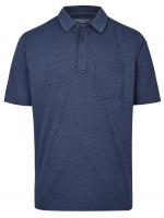 Poloshirt - Regular Fit - dunkelblau