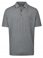 Poloshirt - Regular Fit - grau