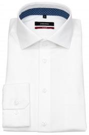 Hemd - Modern Fit - Haikragen - weiß