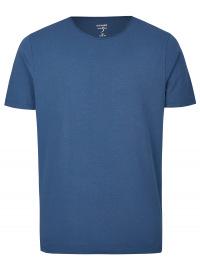 Level Five Body Fit - T-Shirt - Rundhals-Ausschnitt - indigo