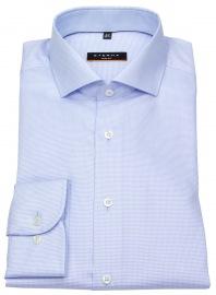 Hemd - Slim Fit - Stretch - Struktur - hellblau / weiß - ohne OVP