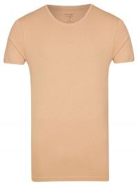 Level Five Body Fit - T-Shirt - Rundhals-Ausschnitt - caramel - ohne OVP