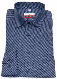 Marvelis Hemd - Modern Fit - Under Button Down - dunkelblau