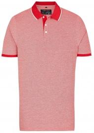 Poloshirt - Piqué - rot