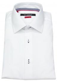 Hemd - Slim Fit - Kentkragen - weiß - ohne OVP