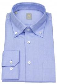 Hemd - Slim Fit - Button Down - Oxford - hellblau - ohne OVP