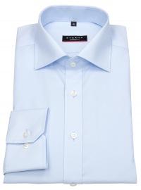 Hemd - Modern Fit - ohne Brusttasche - hellblau