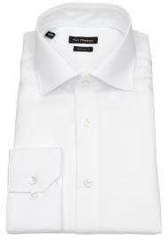 Hemd - Regular Fit - Haifischkragen - weiß