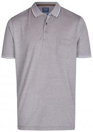 Poloshirt - Casual Fit - Piqué - schlamm