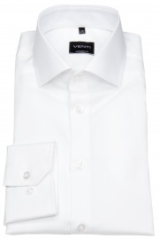 Hemd - Modern Fit - Twill - weiß