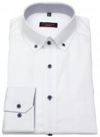 Hemd - Modern Fit - Button Down - Kontrastknöpfe - 68cm Arm