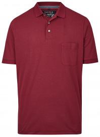 Poloshirt - Quick Dry - dunkelrot