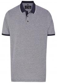 Poloshirt - Piqué - nachtblau
