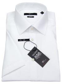 Kurzarmhemd - Slim Fit - weiß
