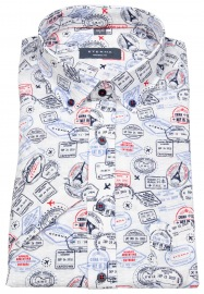 Kurzarmhemd - Modern Fit - Button Down - Print