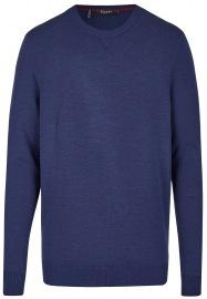 Pullover - Modern Fit - Rundhals-Ausschnitt - dunkelblau