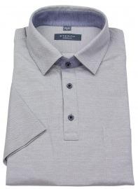 Poloshirt - Modern Fit - Piquée - grau