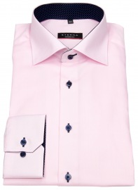Hemd - Modern Fit - Oxford - Kontrastknöpfe - rosé
