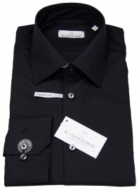 Hemd - Modern Fit - Jamie - schwarz