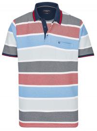 Poloshirt - Casual Fit - Streifen - mehrfarbig