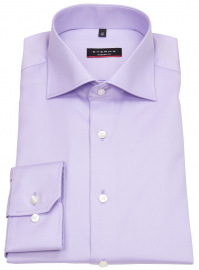 Hemd - Modern Fit - Cover Shirt - extra blickdicht - flieder