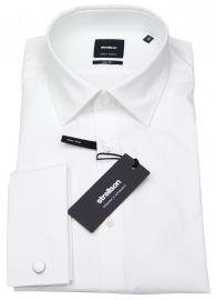Slim Fit - Umschlagmanschette - weiß - ohne OVP