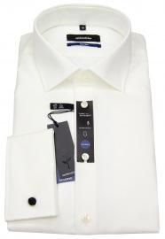 Hemd - Tailored Fit - Umschlagmanschette - hellbeige