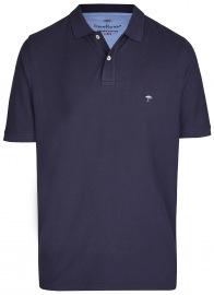 Fynch-Hatton Poloshirt - Casual Fit - Piqué - dunkelblau