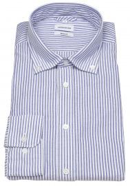 Hemd - Regular Fit - Button Down - hellblau / weiß