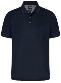 Poloshirt - Modern Fit- Piqué - dunkelblau