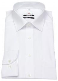 Hemd - Comfort Fit - weiß - langer Arm 69cm