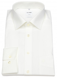 Hemd - Luxor Comfort Fit - New Kent Kragen - helles beige