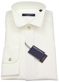 Hemd - Kläppchenkragen - verd. Knopfleiste - beige - ohne OVP
