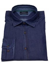 Hemd - Comfort Fit - Jeanshemd - blau
