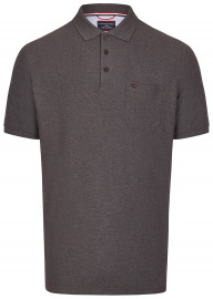 Poloshirt - Pima Cotton - anthrazit