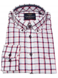 Hemd - Comfort Fit - Button Down - kariert