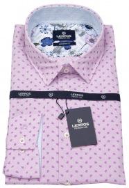 Hemd - Modern Fit - Print - rosé - ohne OVP