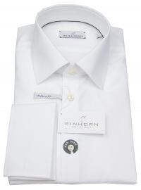 Hemd - Modern Fit - Jamie - Umschlagmanschette - weiß - ohne OVP
