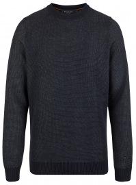 Pullover - Regular Fit - Rundhals - Navy