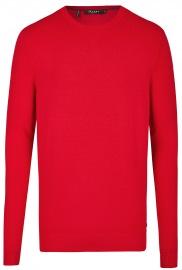 Pullover - Modern Fit - Rundhals-Ausschnitt - rot